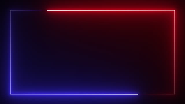 neon leuchten farbe bewegen nahtlose kunst hintergrund abstrakte bewegung bildschirm 4k - rechteck stock-videos und b-roll-filmmaterial