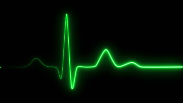 Neon heartbeat on black isolated background. 4k seamless loop animation. Background heartbeat line neon light heart rate display screen medical research Neon heartbeat on black isolated background. 4k seamless loop animation. Background heartbeat line neon light heart rate display screen medical research pulse trace stock videos & royalty-free footage