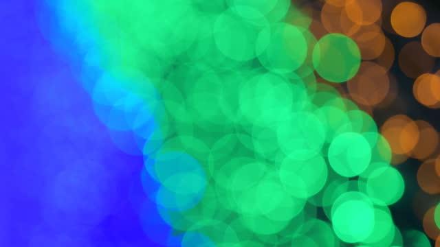 Neon light in Tunnel light. video