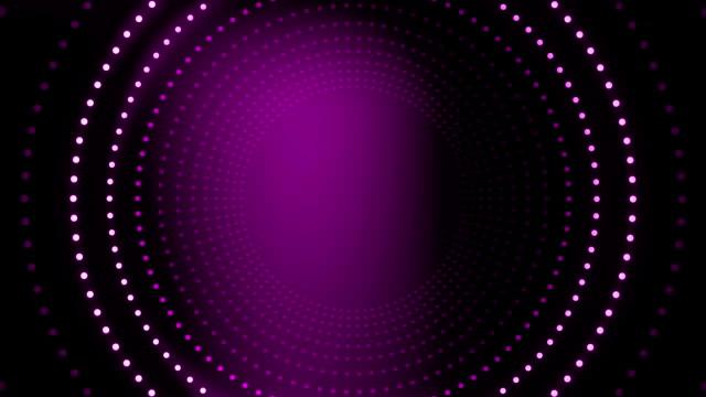 霓虹燈圓形漩渦背景動畫 - golden ratio 個影片檔及 b 捲影像
