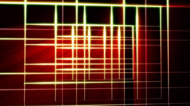 neon Linien grid – Video