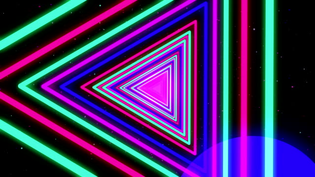Neon Streaks Disco Led Laser Loop  Background Energy Turquoise Electric Light Green Blue Red Pink Night Party Yellow Backdrop Shine Colourful. Very useful for backdrops video
