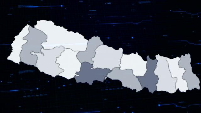 Nepal network map video