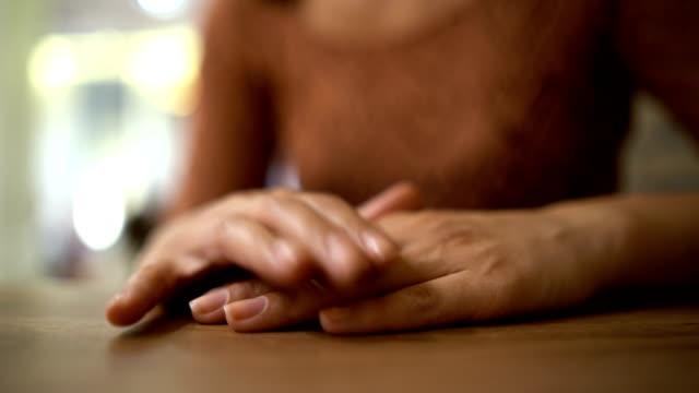 Nervous hands