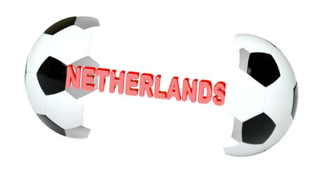 Netherlands. 4K Resolution. Looping. Netherlands. 4K Resolution. Looping. international match stock videos & royalty-free footage