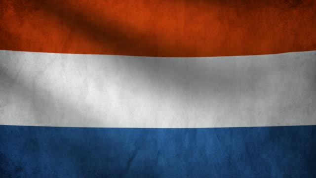 stockvideo's en b-roll-footage met vlag van nederland. - maastricht