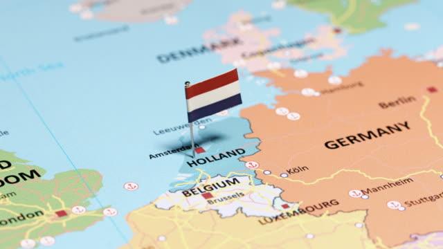 stockvideo's en b-roll-footage met nederland met nationale vlag - netherlands