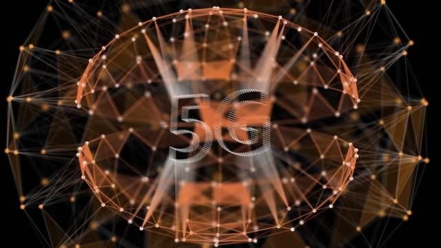 5Gネットワークの背景 ビデオ