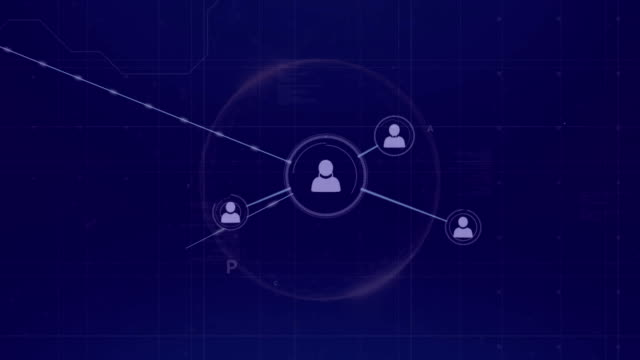 Network of data and connections