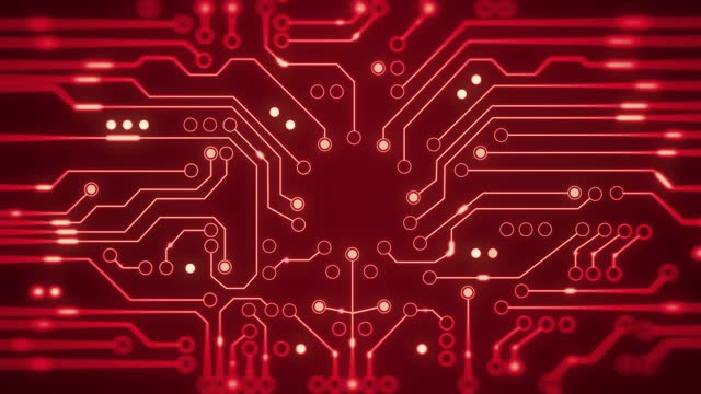 Network server, computer network, Circuit Board Background.