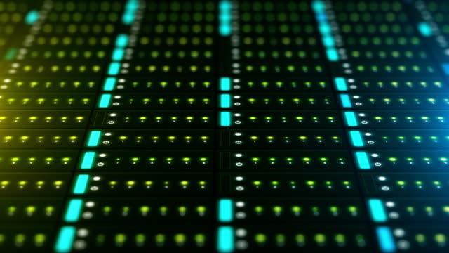 vídeos de stock, filmes e b-roll de dados do servidor de rede - peça de computador