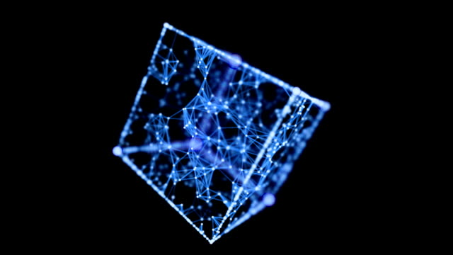 vídeos y material grabado en eventos de stock de red - cube
