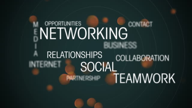 Networking titles video