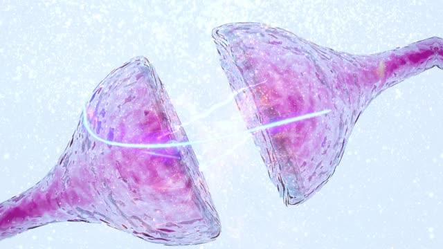neuron electrical impulse synapse concept degenerative disease neurological disease Alzheimer's, dementia, cognitive process concept synapse deconstructing exploding