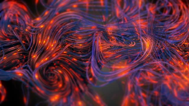neuron network loop - genetics stock videos and b-roll footage