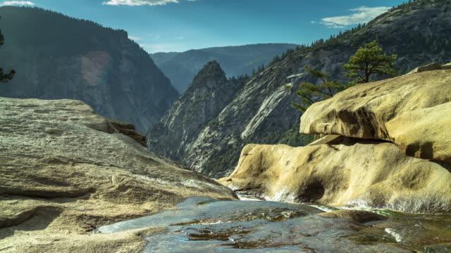 Nevada Falls, Yosemite National Park - Time Lapse video