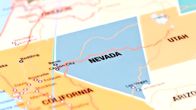 nevada from usa states - nevada video stock e b–roll
