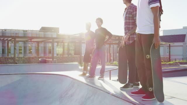 ny och kommande skridsko talang - skatepark bildbanksvideor och videomaterial från bakom kulisserna