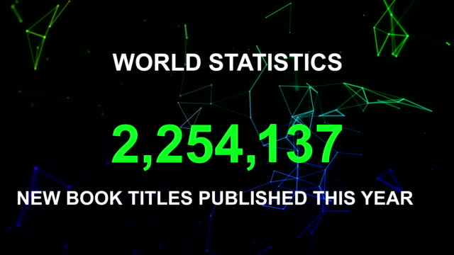 New book titles published this year world stats video