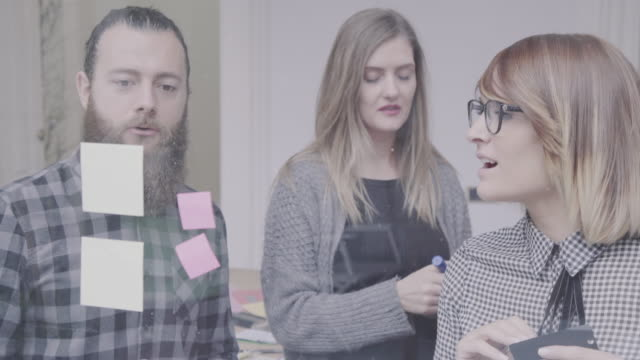 New business team: at work together in the startup office New business team works in the startup office coworking stock videos & royalty-free footage