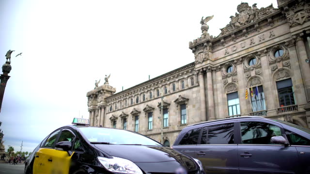 New Customs House Building In Barcelona Aduana Facade Spain Architecture Stock Video Download Video Clip Now Istock