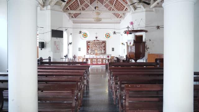 New Jerusalem Church in Tranquebar, Tamil Nadu, India