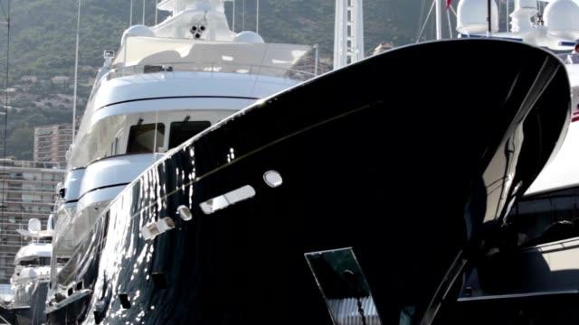 New luxury yachts in Monaco video