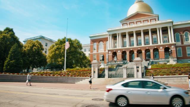nya massachusetts state house - massachusetts bildbanksvideor och videomaterial från bakom kulisserna