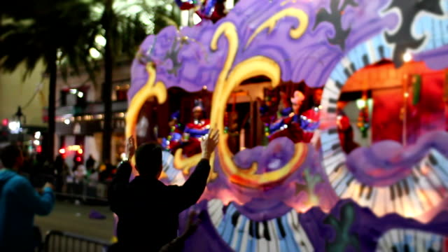 New Orleans Mardi Gras video