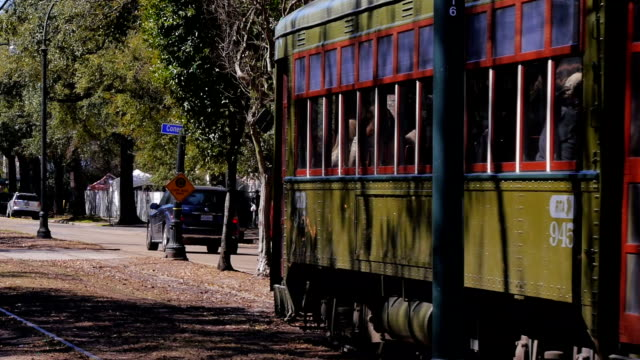 New Orleans Streetcar video