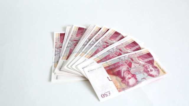 new style fifty pound notes HD video video
