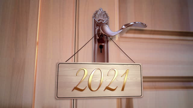 New Year 2021 Animation 2021 New Year animation. Best for New Year's Eve, friends party, and other event keyhole stock videos & royalty-free footage