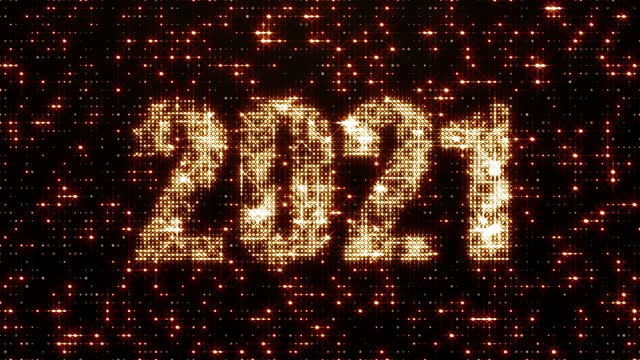 New Year 2021 USA, 2021, Countdown, New Year's Eve, New Year happy new year 2021 stock videos & royalty-free footage