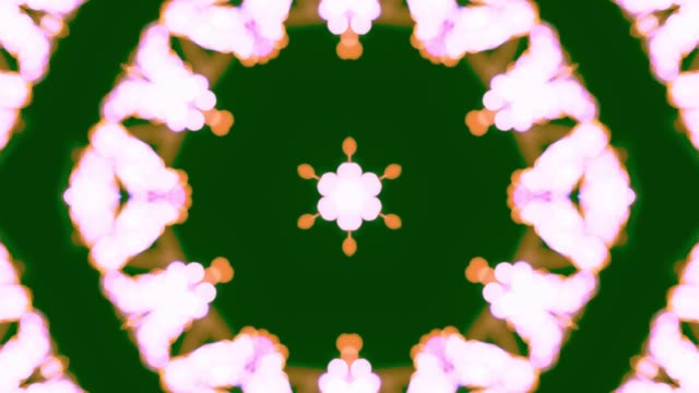 New Year abstraction kaleidoscope video