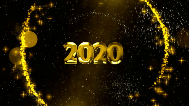 new year background 2020 - stock video new year background 2020 stock videos & royalty-free footage
