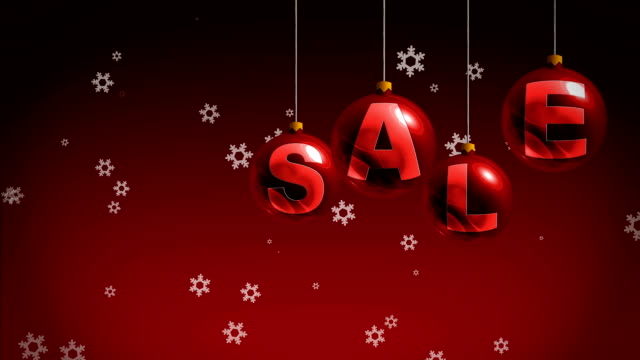 New Year sales video