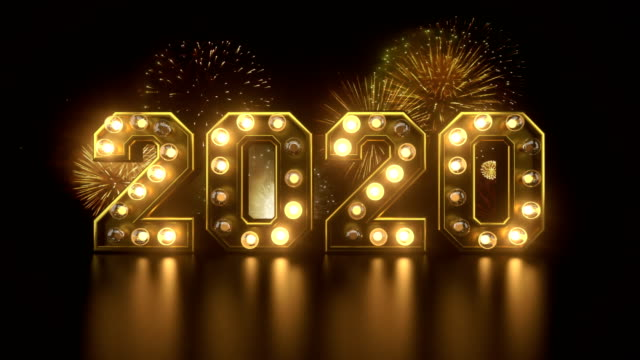 new year's eve countdown to 2020 year - new years stock videos & royalty-free footage