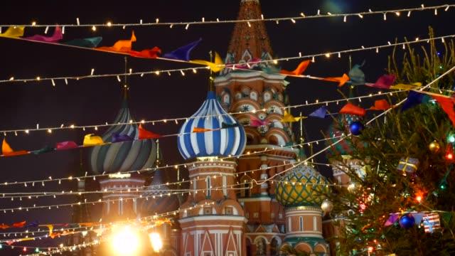 nya årets mässa. - moskva bildbanksvideor och videomaterial från bakom kulisserna
