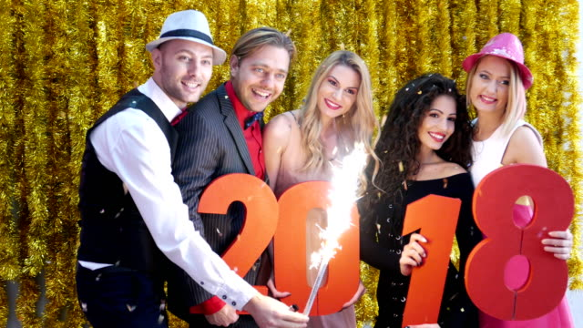 New Year's Party Photo Session video