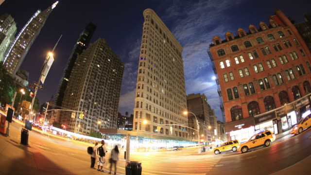 New York City: 23rd St and Flariron building video