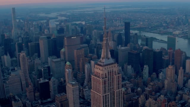 紐約城航拍畫面 - 高清電視 影像的技術 個影片檔及 b 捲影像