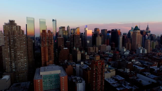 Luftbild von New York City – Video