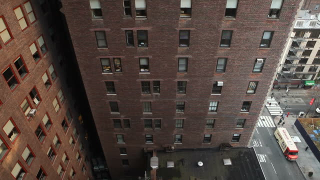 New York City Apartment Building New York City, Apartment Building - Pan up, City loft apartment stock videos & royalty-free footage