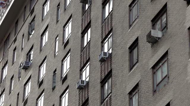 New York City building facade exterior