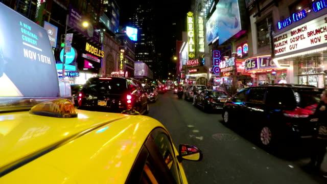 New York City Cab POV video