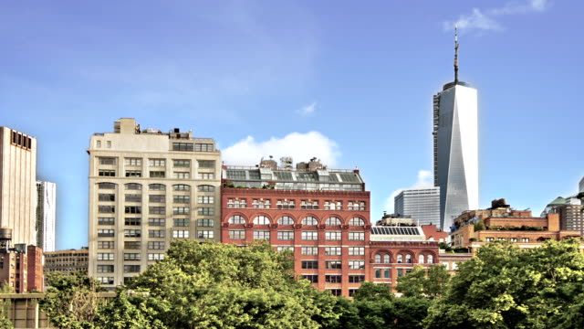 New York city freedom tower video