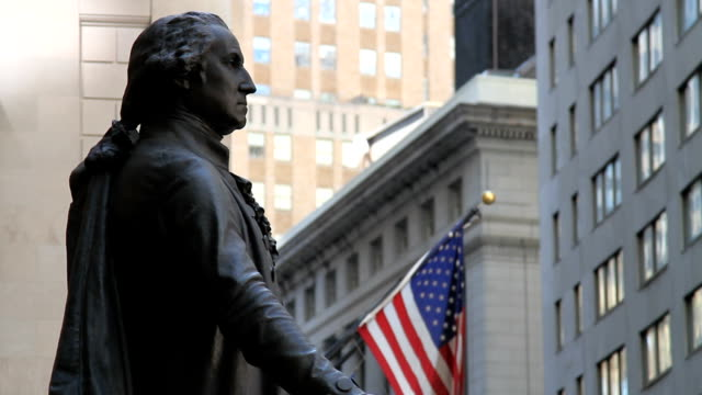 New York City George Washington Statue video