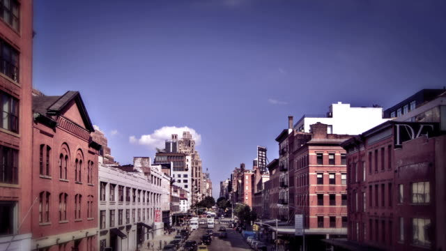 New York City Manhattan street video