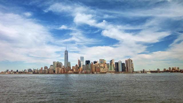 New York city on a hand video