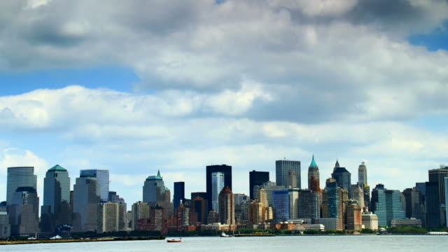 New York City skyline video